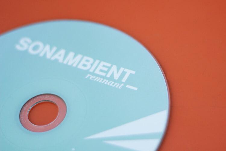 CD close-up