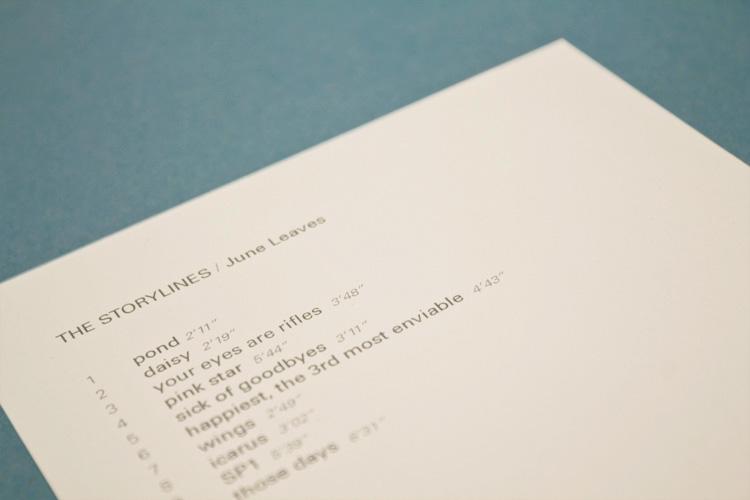 Tracklist detail
